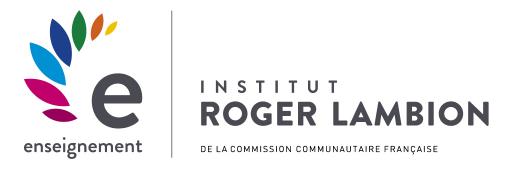 Site internet de l'Institut Roger Lambion enseignement secondaire de la commission communautaire française