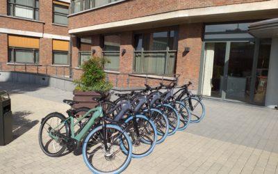 Des vélos de service à la COCOF