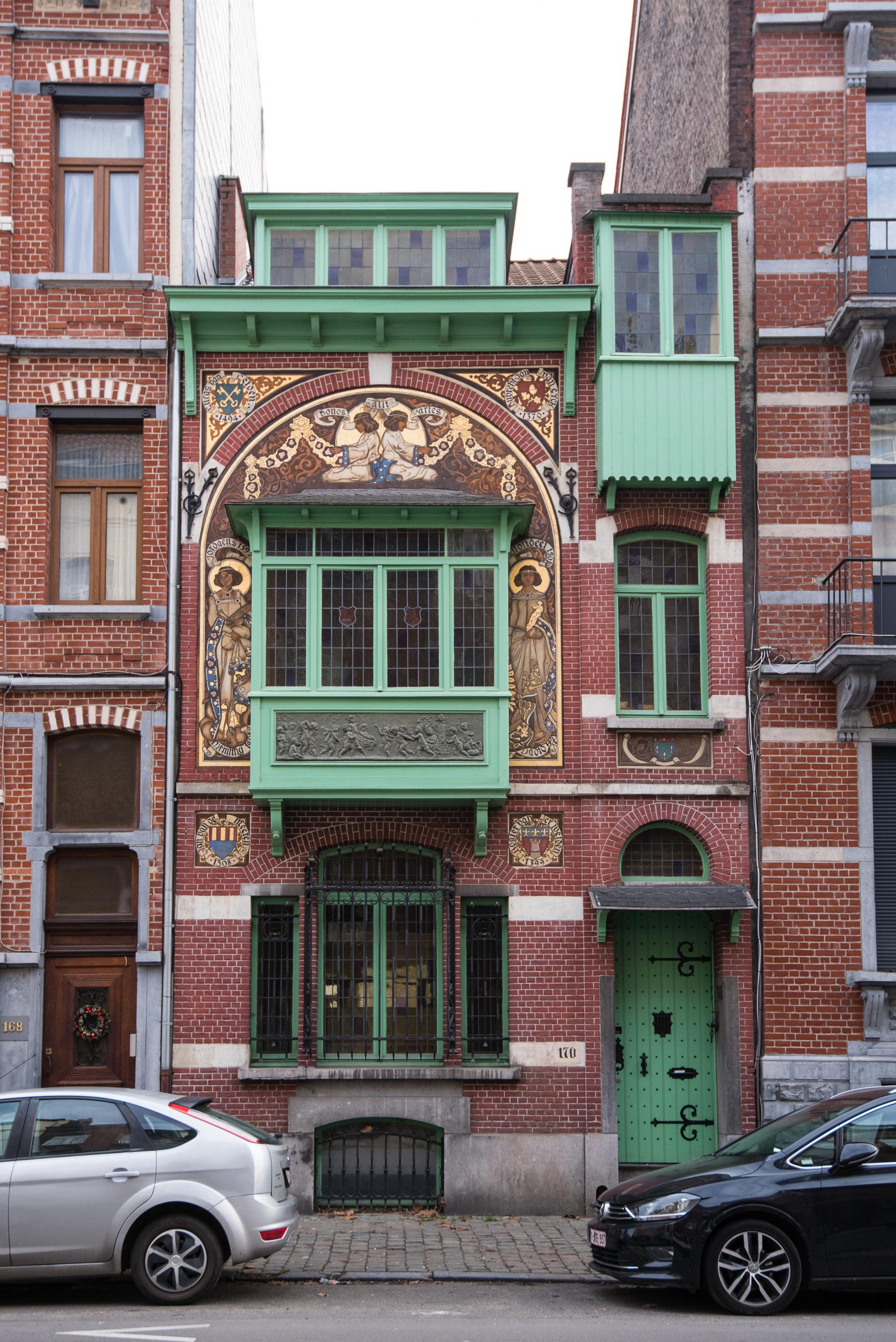Maison classée Rue Georges Moreau n°170 – DoucheFLUX 1070 Anderlecht
