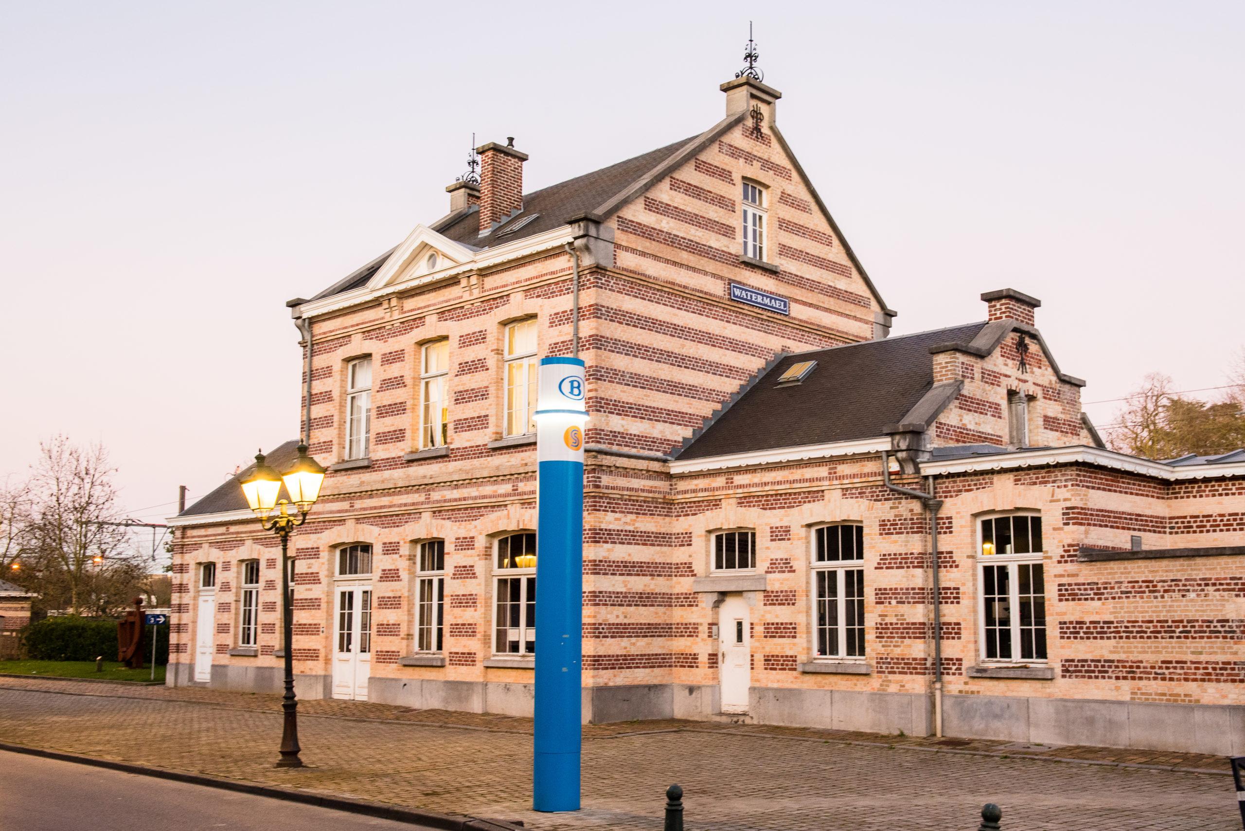 La gare Watermael – Maison de Quartier du Dries 1170 Watermael-Boitsfort