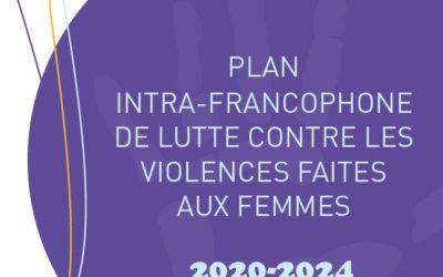 Le plan intra-francophone de lutte contre les violences faites aux femmes 2020-2024