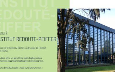 Le nouveau site internet de l'Institut Redouté Peiffer est en ligne