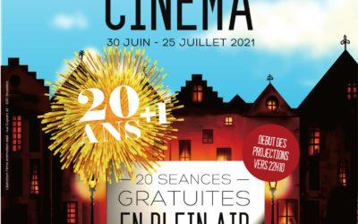 Bruxelles fait son Cinéma 2021 du 30 juin au 25 juillet