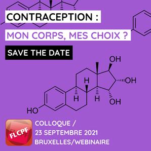 Colloque par la FLCPF - Contraception : mon corps, mon choix ?