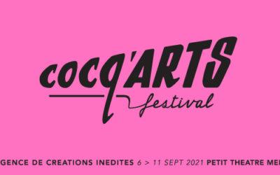 Cocq'Arts festival 2021
